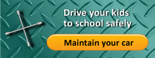 Drive your kids to school safely